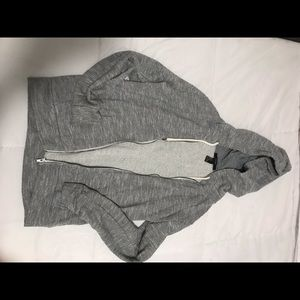 5/$15 Grey zip up Hoodie